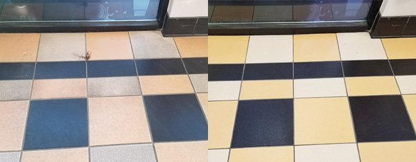 Tile Cleaning, and Grout Coloring and Sealing