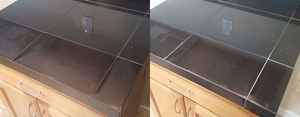 Granite Countertop Refinishing Before And After