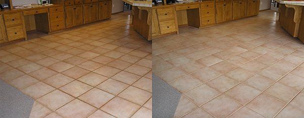 Complete Tile Restoration Service For All Kitchen Bathroom Floor Tiles